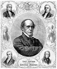 Salmon P. Chase and the Chief Justices of the United States