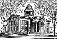 Illinois State Capitol, 1840-1874