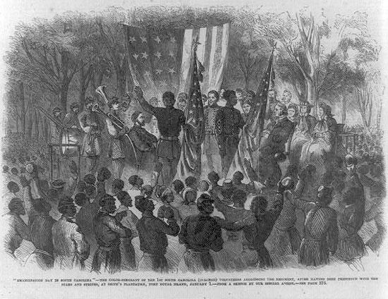 Emancipation Day in South Carolina