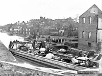 The Fall of Richmond, Refugees, April 2, 1865