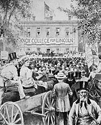 Debate at Knox College