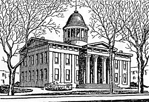 Illinois State Capitol, 1840-1874