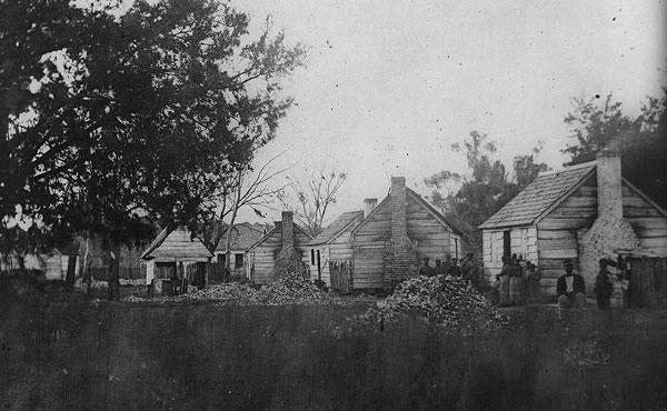 Planation Slave Quarters, Port Royal Island, South Carolina