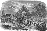 Stampede of Slaves to Fortress Monroe