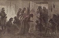 Escaping Union Officers Succored by Slaves